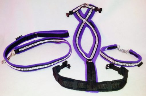 Sparkles Fleece Harness-255