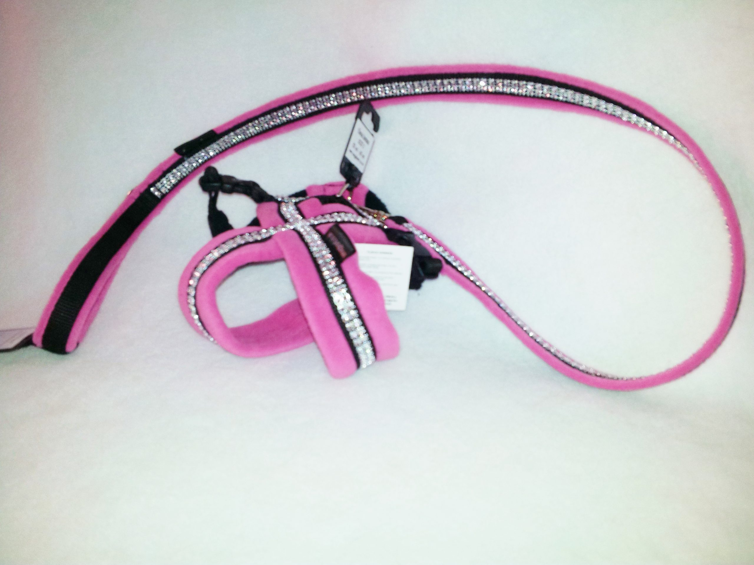 Sparkles Fleece Harness-256